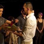 Performance Inferno Varieté Devoción Abraham Tornero expiación con chiles
