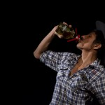 "Ese Chamuko tomando tequila ""Potrero"" hasta vomitar Performance Inferno Varieté"